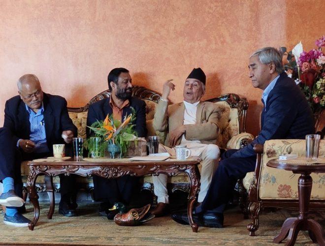 काँग्रेस बैठक : उपनिर्वाचन र भारतसँगको नक्सा विवादबारे  छलफल